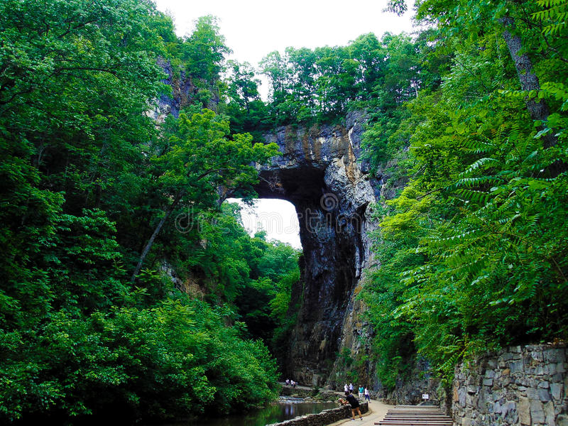 自然桥梁1 图库摄影