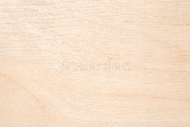 自然桦树胶合板纹理,木头的表面用沙纸摩擦了并且被抓了 免版税库存图片
