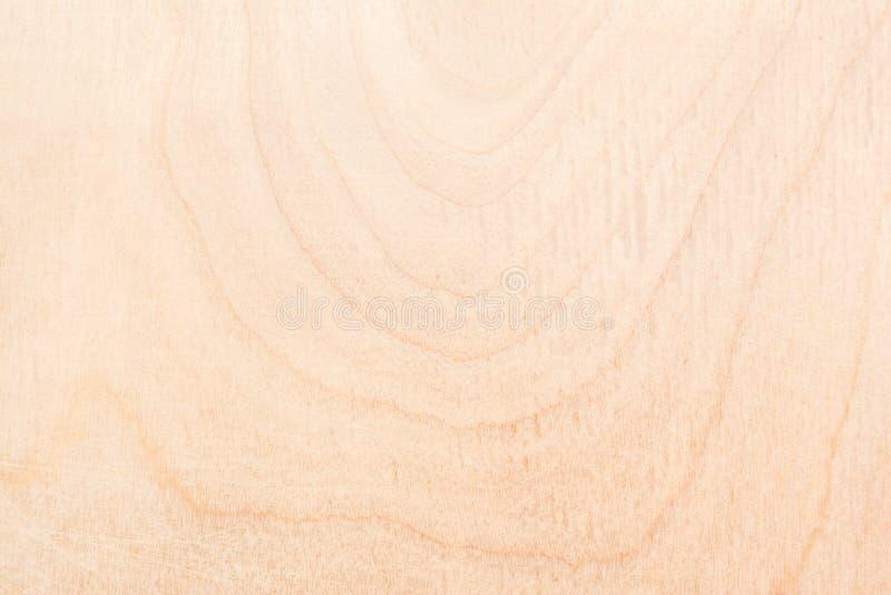自然桦树胶合板纹理,木头的表面用沙纸摩擦了并且被抓了 库存图片