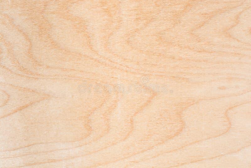 自然桦树胶合板纹理,木材的表面是未经治疗,很多纤维和小芯片 免版税库存照片