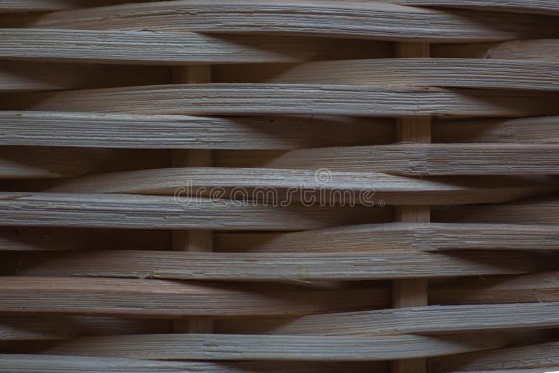 自然植物纤维,柳条家具,关闭 免版税库存图片