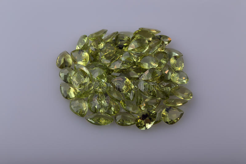 自然橄榄石 免版税图库摄影