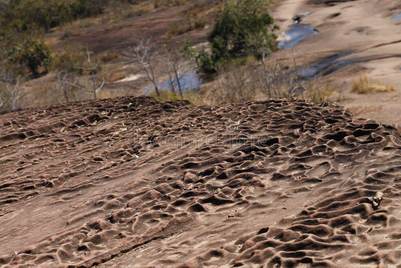 自然沙子石头纹理 库存照片