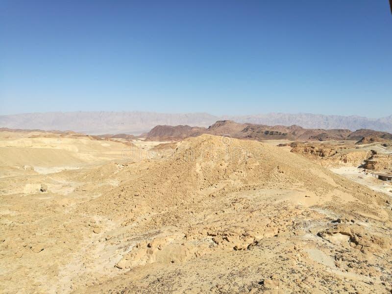 自然沙漠风景 库存照片