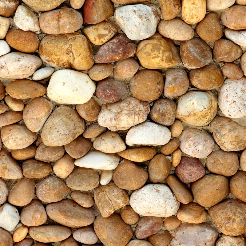 自然河岩石石头纹理  库存照片