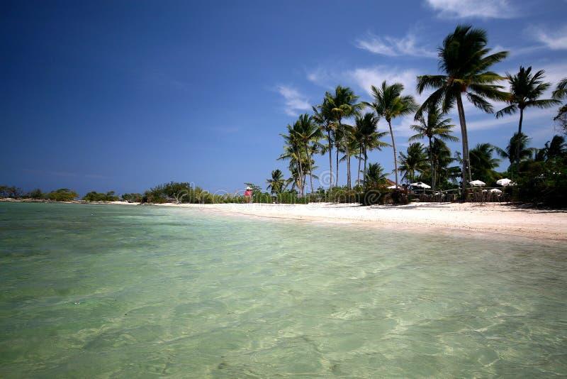 自然游泳池在天堂, Morro de圣保罗, Salva 免版税库存图片