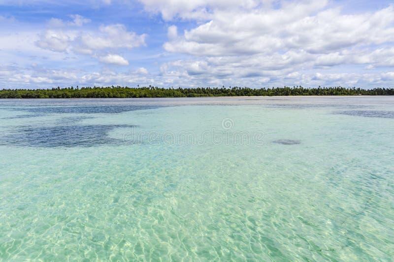 自然游泳池在Morro de圣保罗,萨尔瓦多,巴西 库存照片