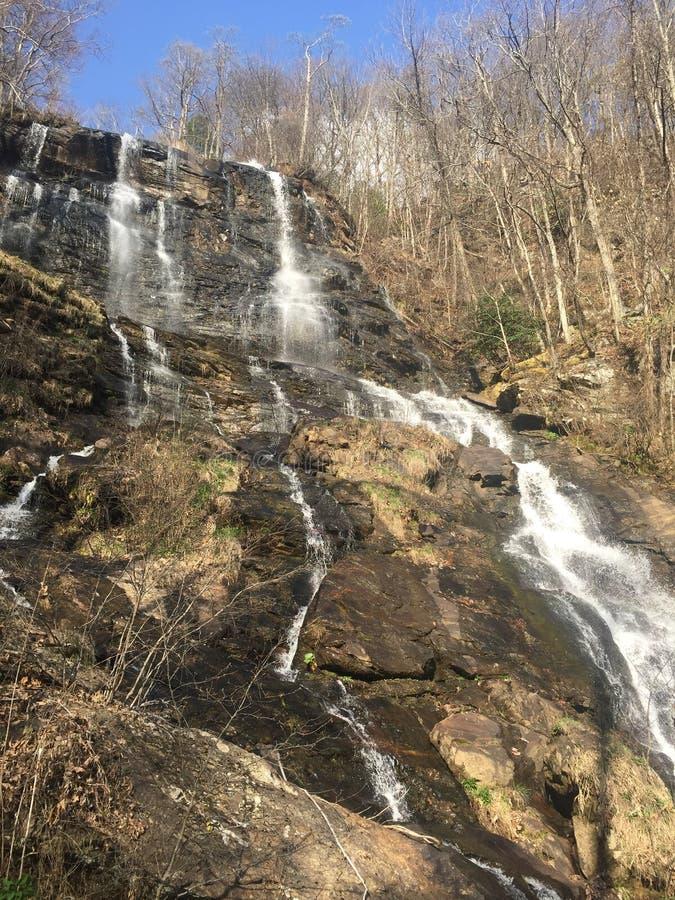 自然瀑布 免版税库存图片