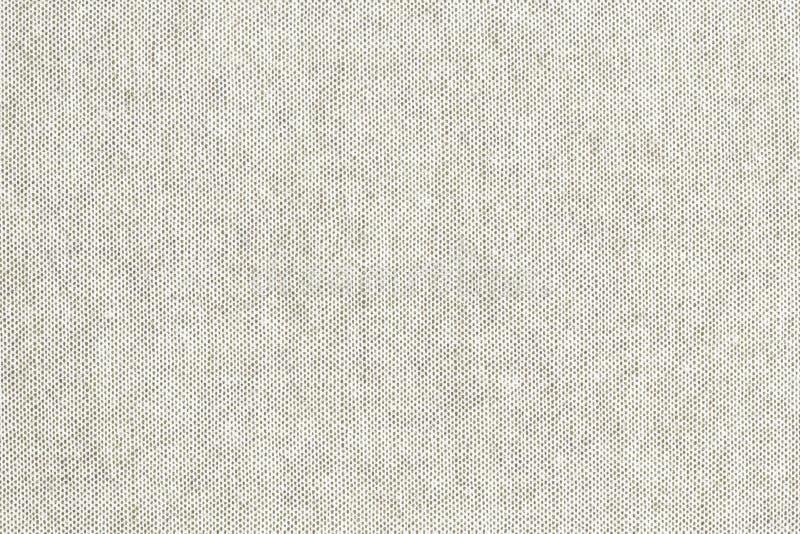 自然白色色的亚麻制纹理或葡萄酒帆布背景 库存图片