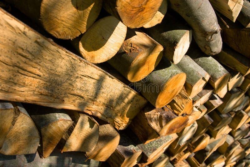 自然的木料 免版税库存照片