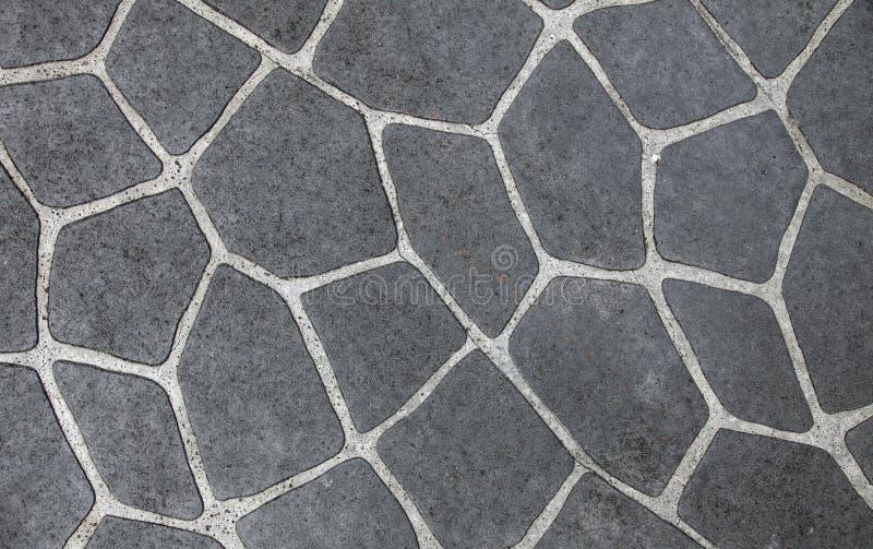 自然石盖瓦 图库摄影