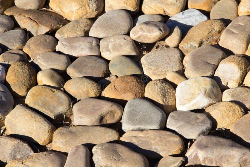 自然石头 库存照片