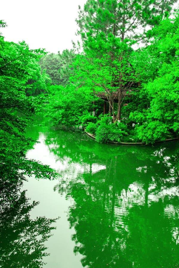自然秀丽从西湖的 库存图片