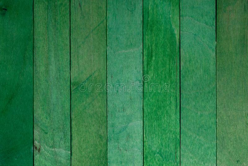 自然绿色木板条美好的纹理  库存照片