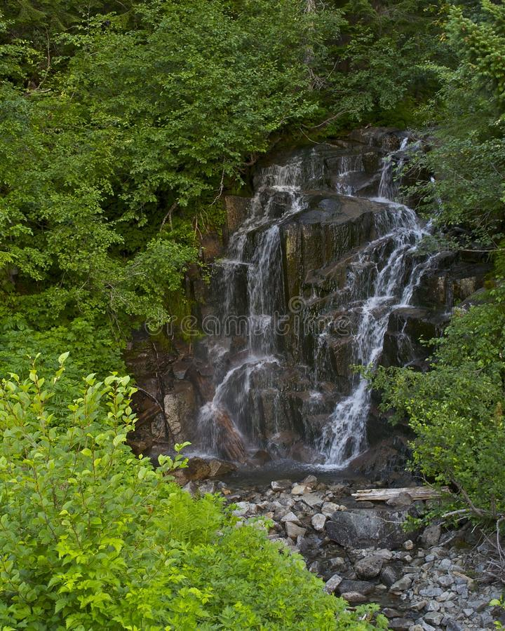 自然自然水特点 库存照片