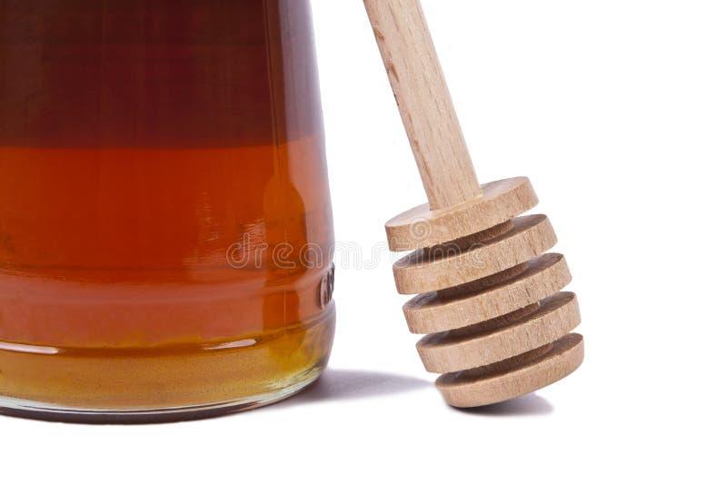 自然蜂蜜 库存照片