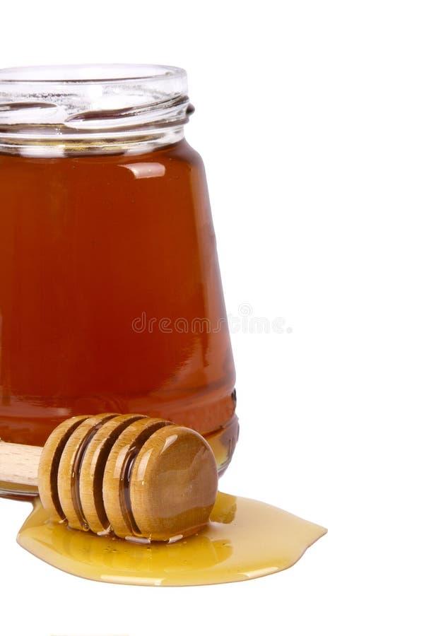 自然蜂蜜 免版税图库摄影