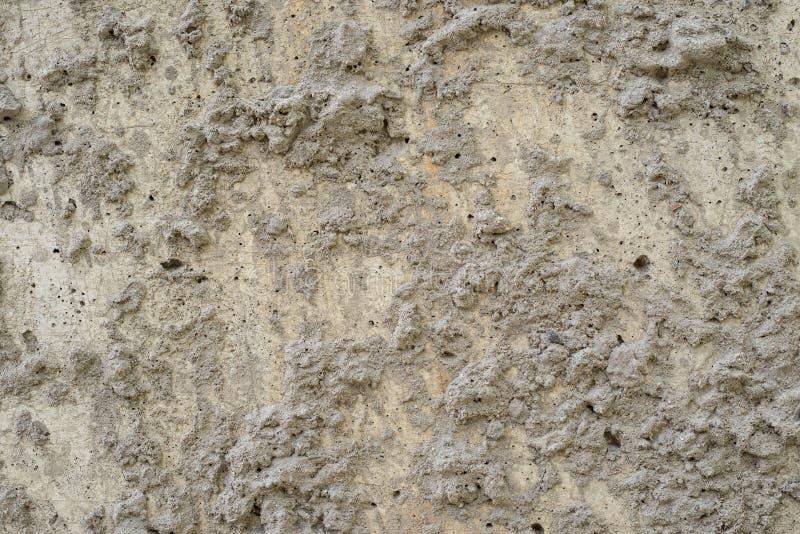 自然颜色水泥表面七高八低的纹理  库存照片