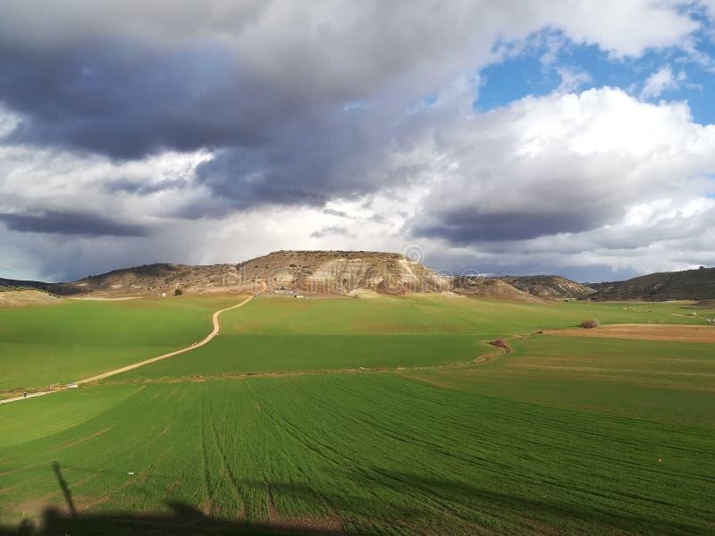自然风景西班牙托里斯 库存图片