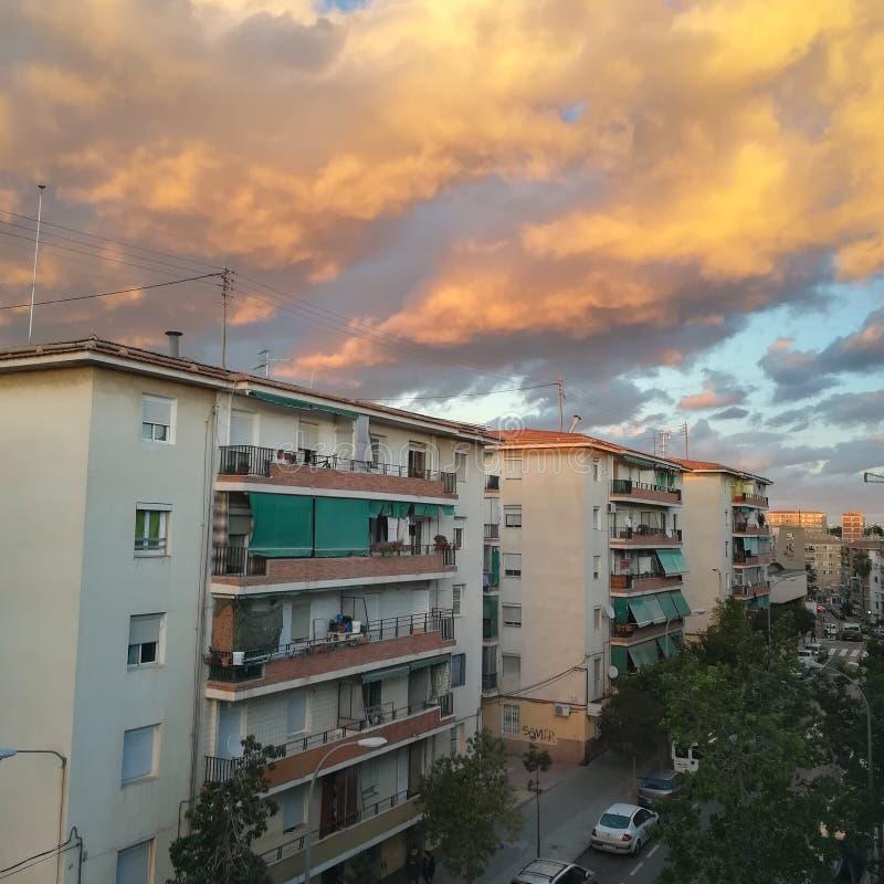 自然风景西班牙托里斯 库存照片