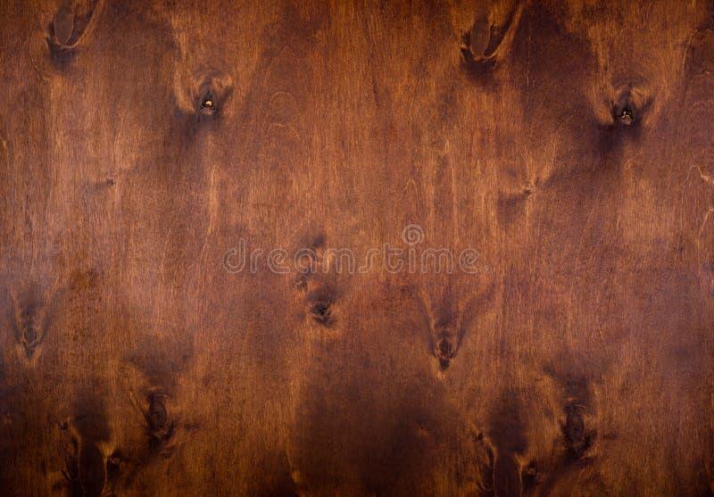 自然黑褐色木头背景 库存照片