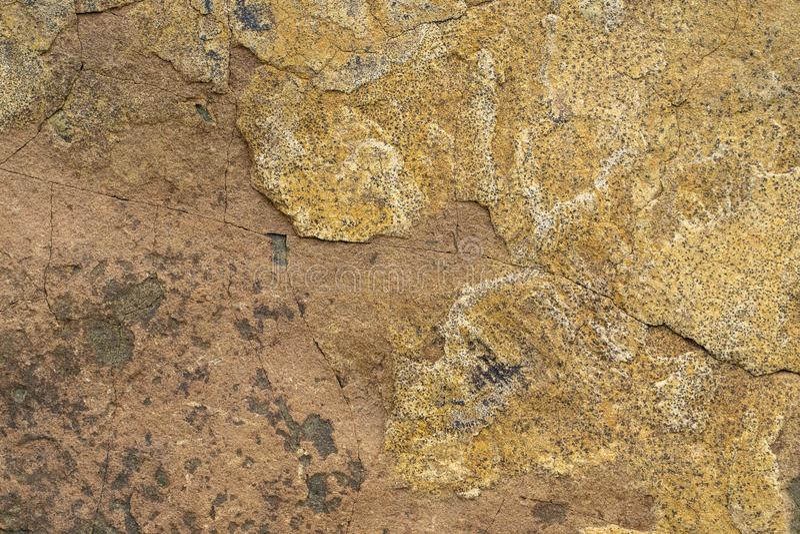 自然backgound slatestone纹理与腐蚀样式的 免版税库存照片