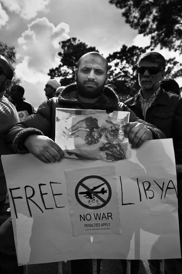 自由利比亚 库存照片