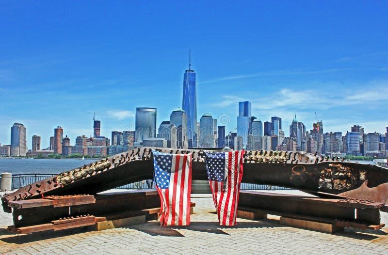 自由塔,曼哈顿,纽约,美国 免版税库存图片
