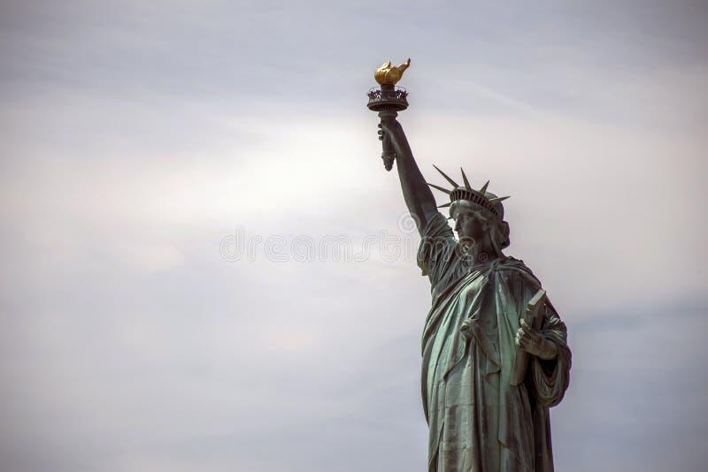 自由女神像纽约地平线纪念碑3 免版税库存图片