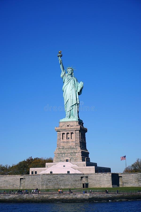 自由女神像纽约曼哈顿 免版税库存照片