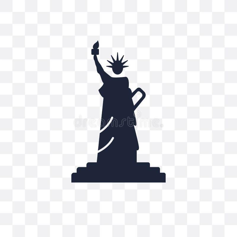 自由女神像透明象 自由女神像标志des 皇族释放例证