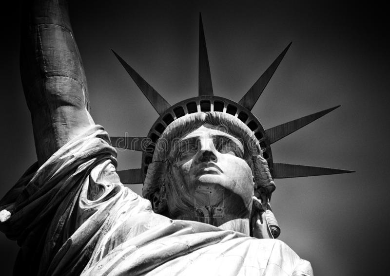 自由女神像,纽约, NY,美国 库存图片