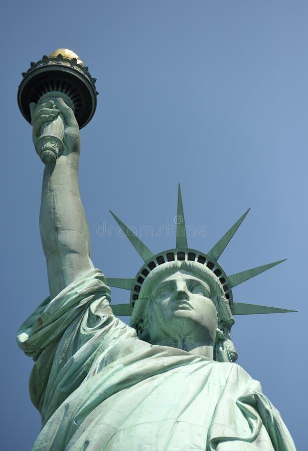 自由女神像,纽约, NY,美国 免版税库存照片