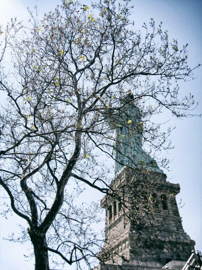 自由女神像, NYC,美国 免版税库存图片