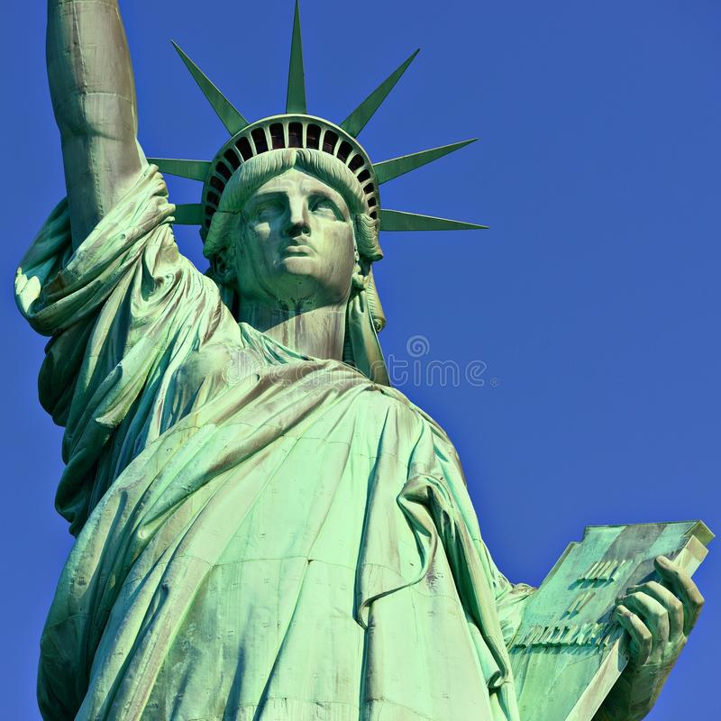 自由女神像 免版税图库摄影