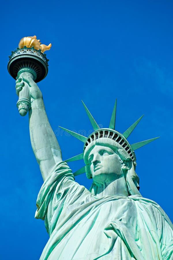 自由女神象。 纽约,美国。 免版税库存图片