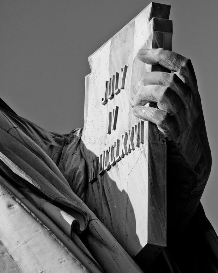 自由女神象, NYC 免版税库存图片