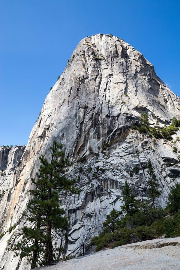 自由帽在优胜美地国家公园,加利福尼亚,美国 免版税图库摄影