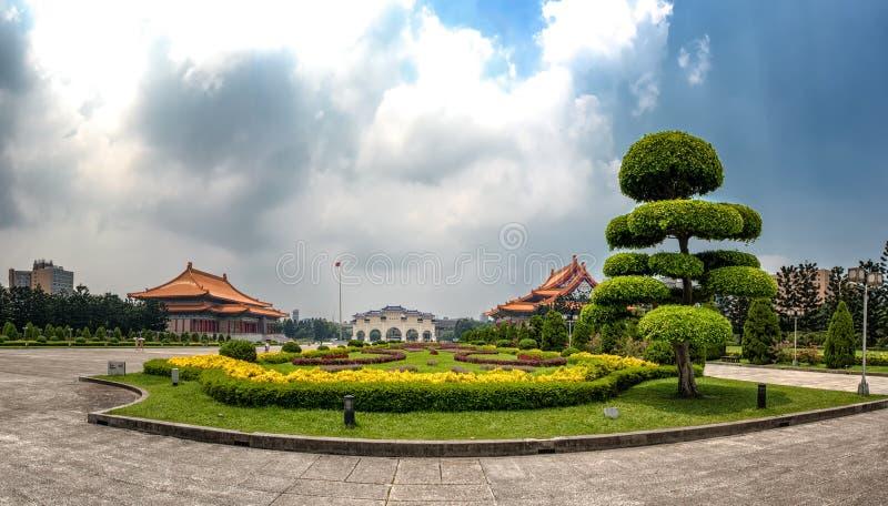 自由广场PanoramaTaipei,台湾 免版税库存照片