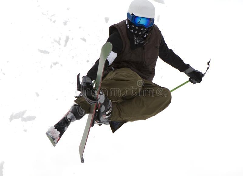 自由式滑雪 免版税库存图片