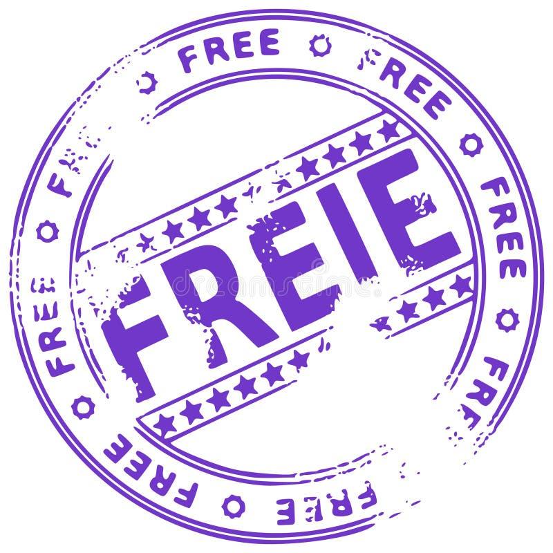 自由德国grunge印花税 皇族释放例证