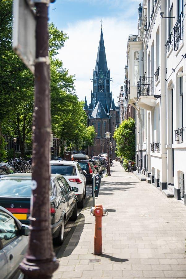 自由教会阿姆斯特丹 库存照片