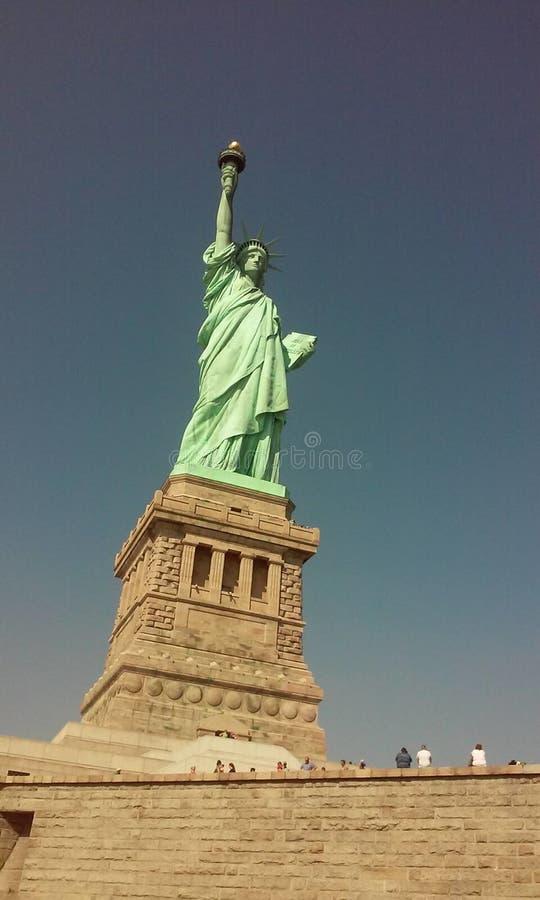 自由新的雕象约克 库存图片