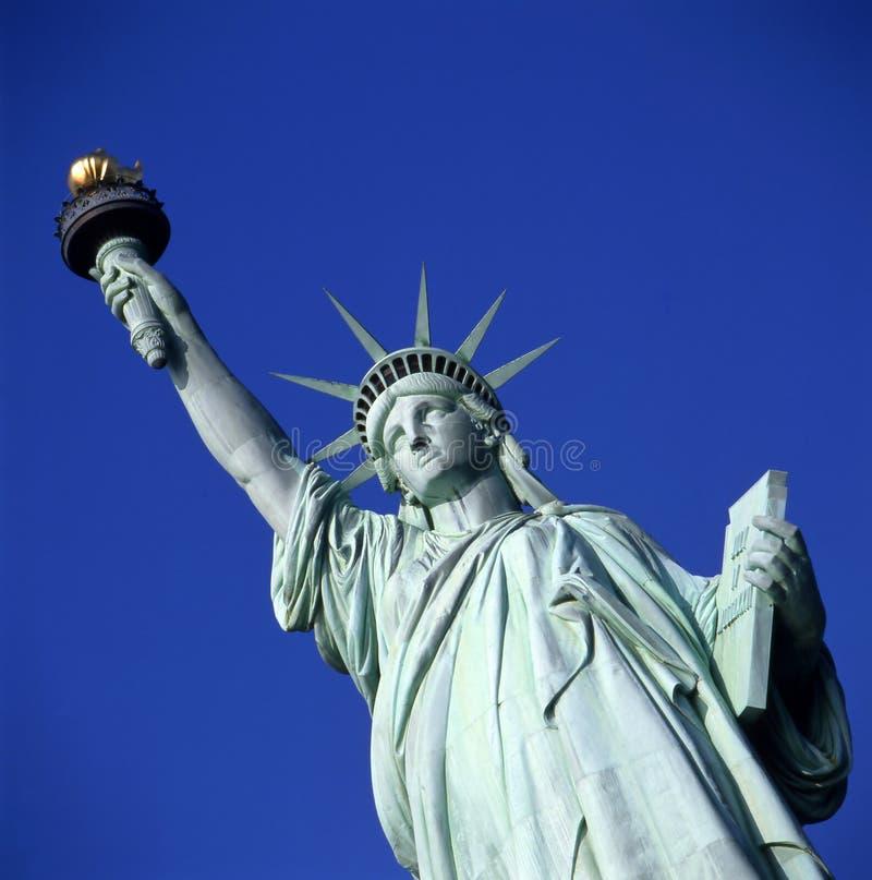 自由新的雕象约克 免版税图库摄影