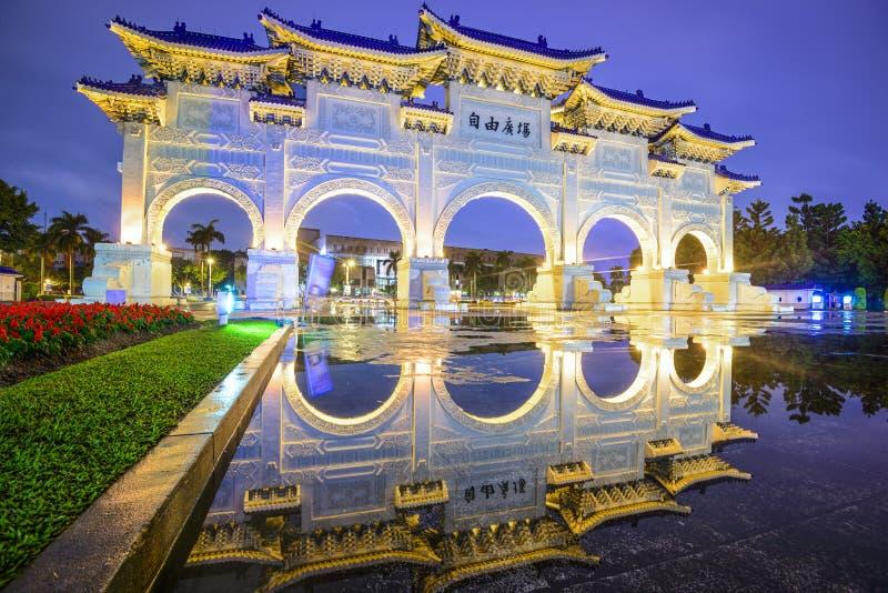 自由方形台北 免版税库存图片