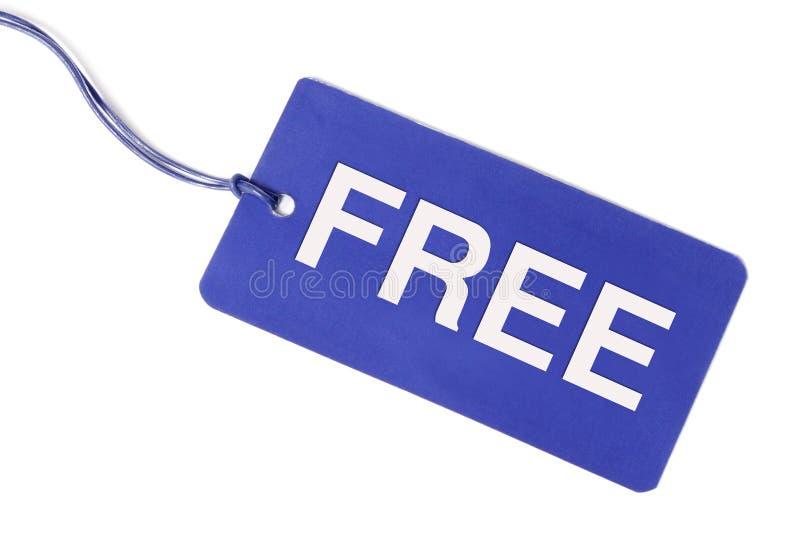 自由标签 免版税库存照片