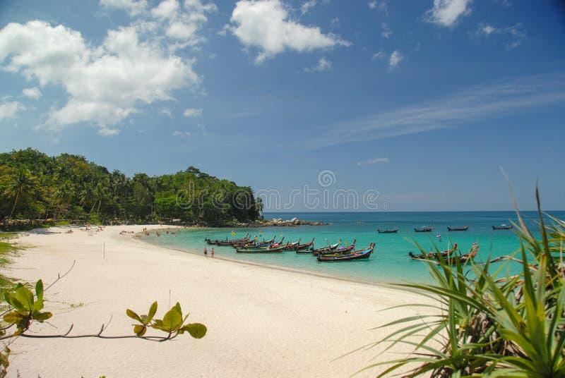 自由海滩在普吉岛泰国 图库摄影
