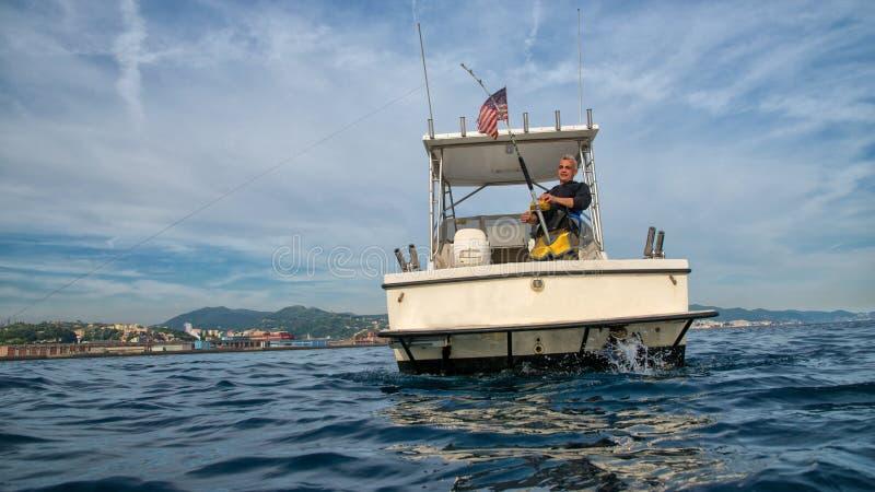 自由渔时间 免版税库存图片