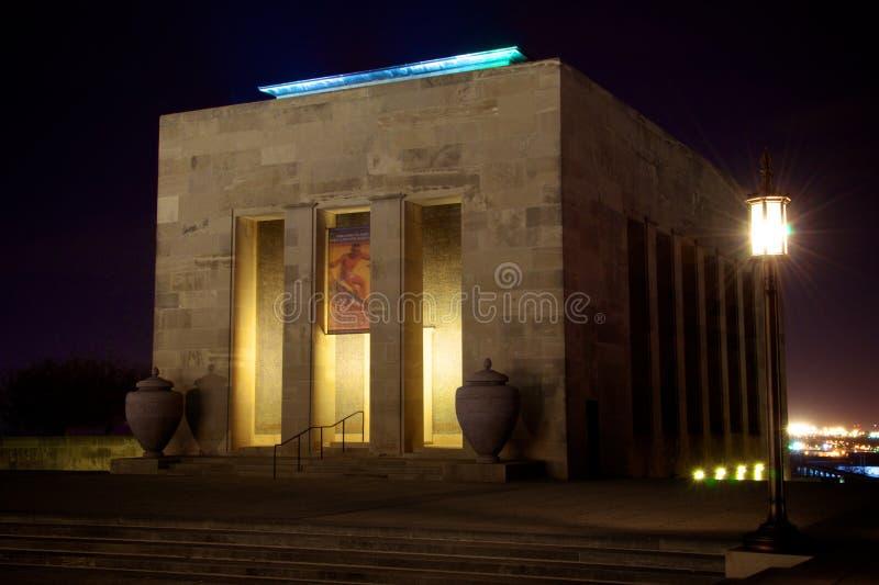 自由纪念堪萨斯城博物馆 免版税库存照片