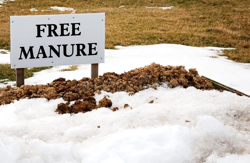 自由肥料 免版税库存图片